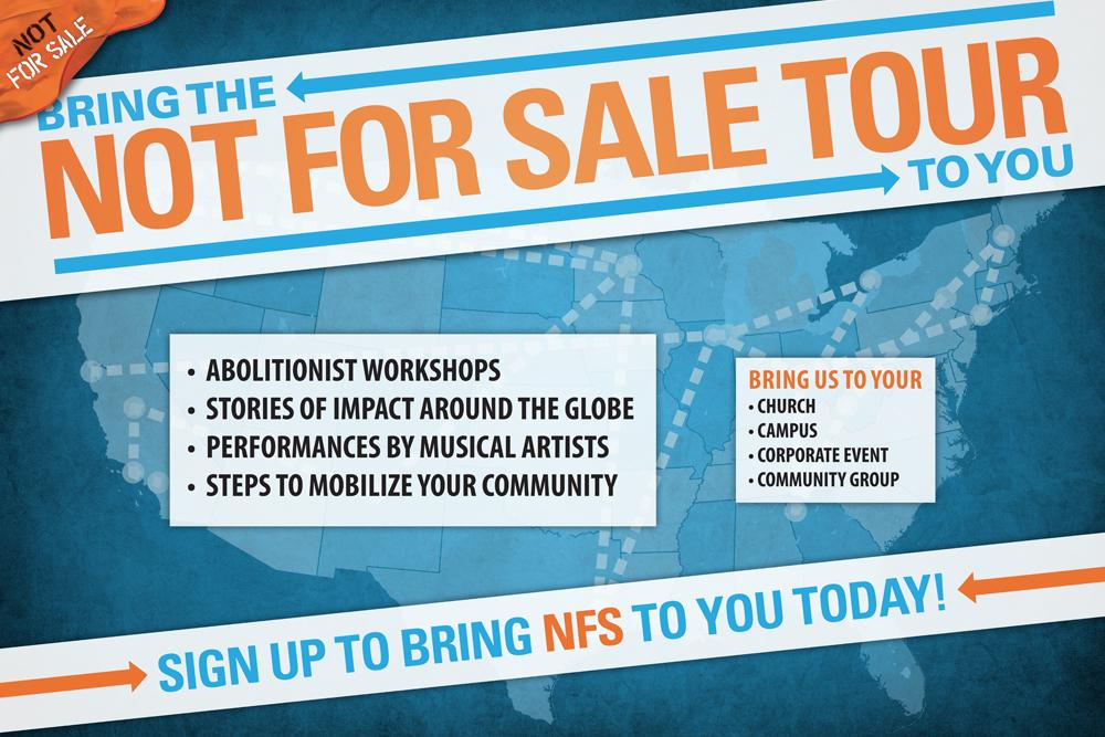 NFS Tour Sign