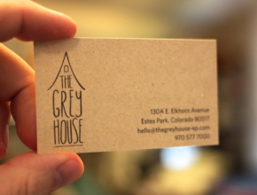 The Grey House Identity and Branding